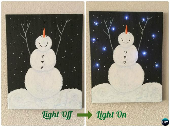 Best Canvas Painting Collection Diy Christmas Ideas