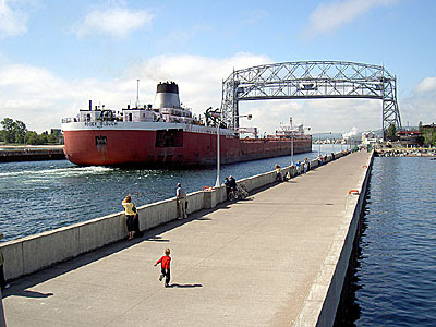 Roger Blough coming in