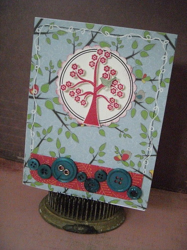 Cheerful Tree Card