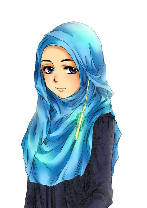 foto hijab kartun foto hijab kartun gambar kartun hijab