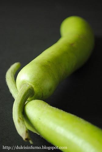 Zucchine Lagenaria-Lagenaria Courgettes