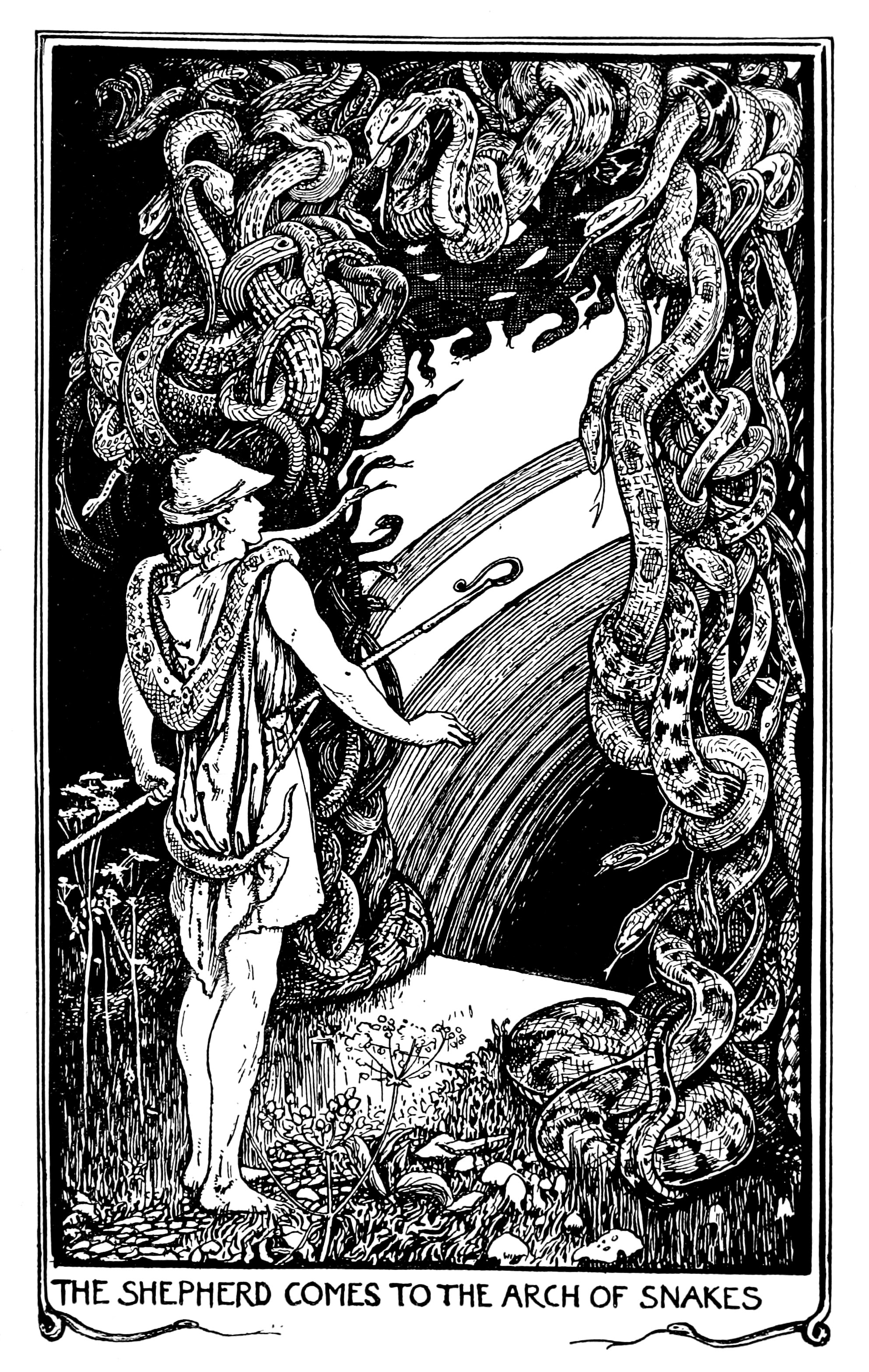 Henry Justice Ford - The crimson fairy book, edited by Andrew Lang, 1903 (illustration 3)