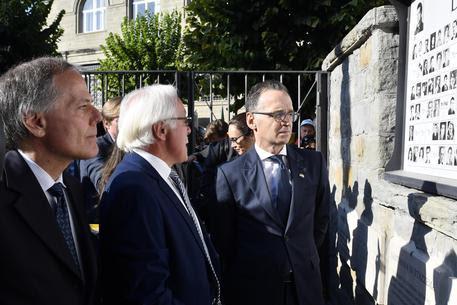 Commemorazione 74esimo anniversario eccidio nazisti a Marzabotto © ANSA