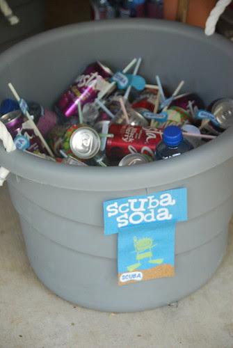 scuba soda drinks