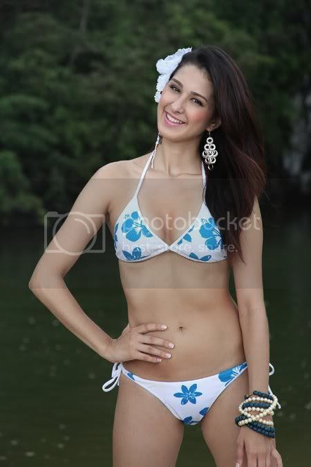 Janelle Olafson won the Miss Eco Tourism Philippines 2011