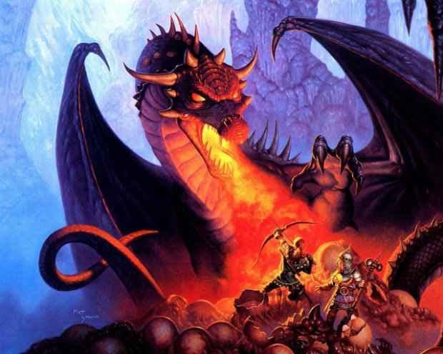Dragões são figuras importantes no D&D. Foto: Grow/Divulgação