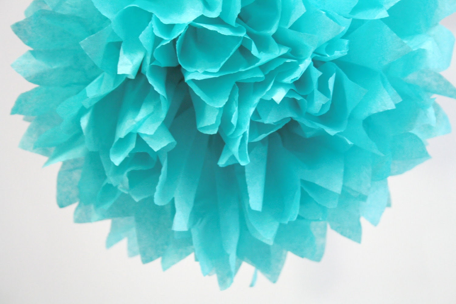 Lagoon 1 Pom tissue paper flower kit by pomtree on Etsy