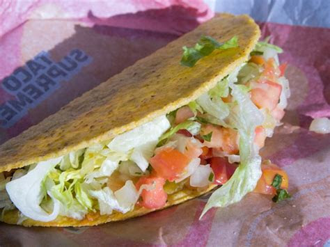 taco bell   considered    healthiest fast
