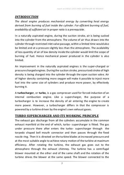 diesel shed izzatnagar report part 2