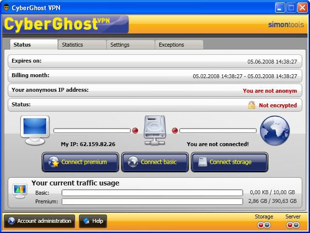 Cyberghost Top 15 free VPN for secure Anonymous Surfing