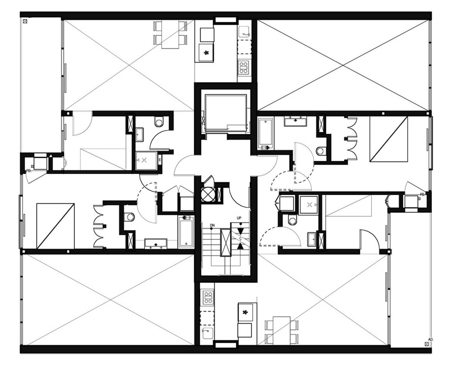 modern architecture floor plans \u2013 Modern House