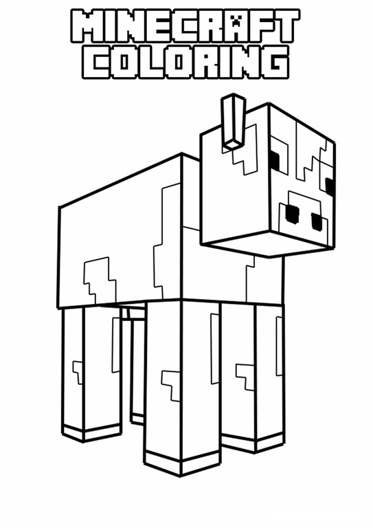 Minecraft Creeper Coloring Pages Z Sragen