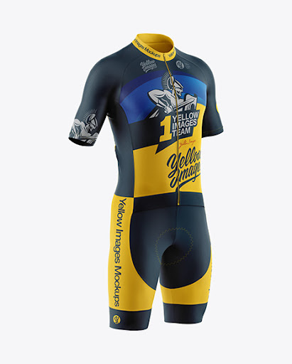 Download Mens Cycling Suit Jersey Mockup PSD File 213.2 MB Free Mockups