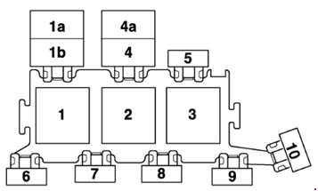 Audi A6 C5 1997 2005 Fuse Box Diagram Auto Genius