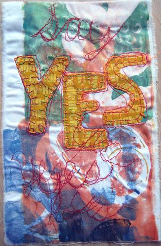prayer flag 15: say yes