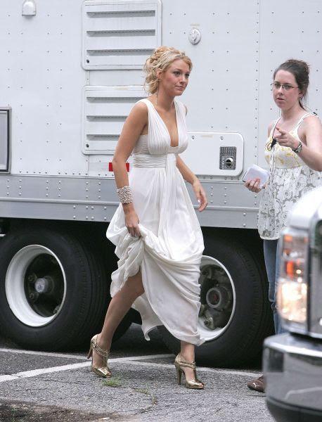 Serena white party dress gossip girl