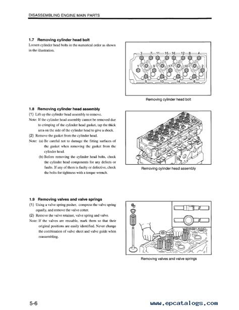 Download Mitsubishi Engine D04FD-TAA Service Manual PDF