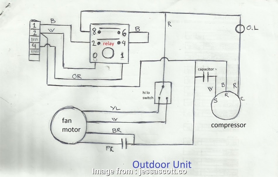 Air Conditioner Compressor Wiring Diagram