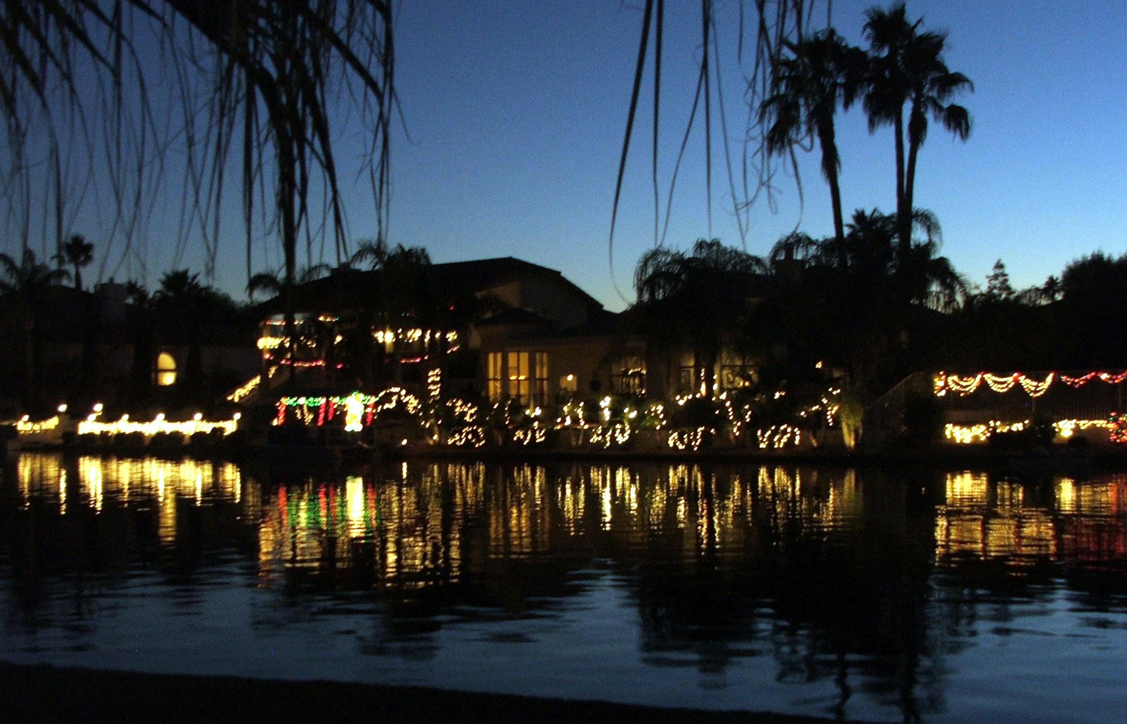 Phoenix Arizona Waterfront Homes» Waterfront Holiday Christmas