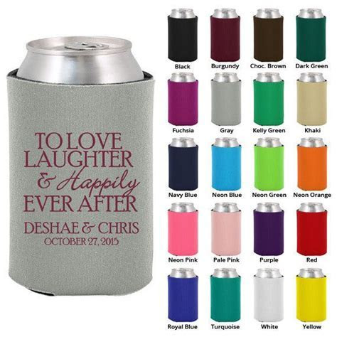 8 best images about Wedding Koozies on Pinterest   Wedding