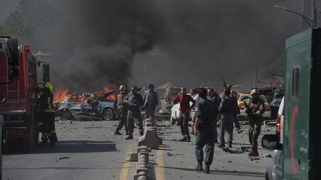 Korban Bertambah, Bom Kabul Tewaskan 90 Orang