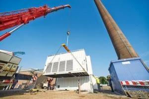 Strom zu Gas-Anlage der WEMAG für Regelenergiemarkt präqualifiziert / Pressebild: