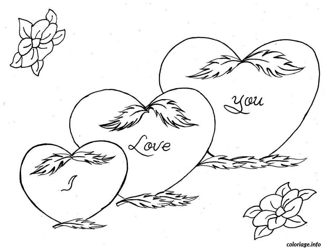 Coloriage dessin amour 72
