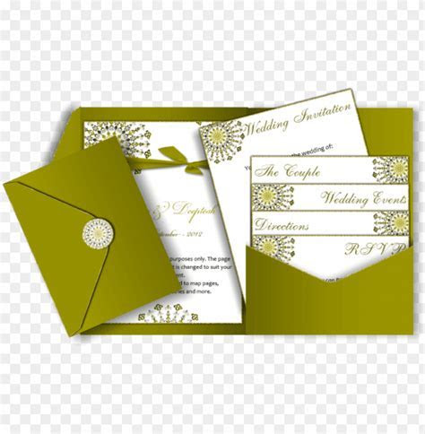simple wedding invitation cards design PNG image with