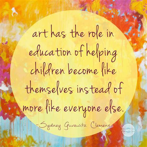 importance  art education article  artist  art