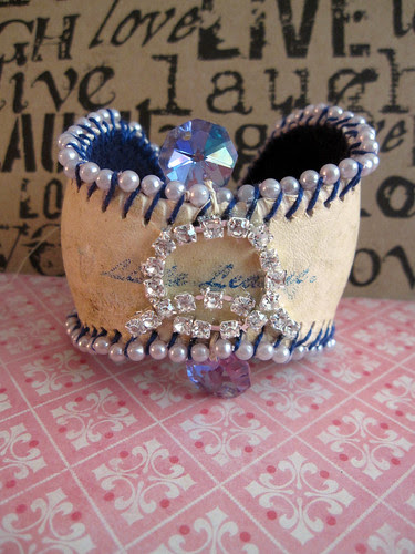 Baseball Cuff For Crystal