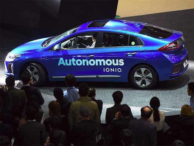 Hyundai Autonomous Ioniq