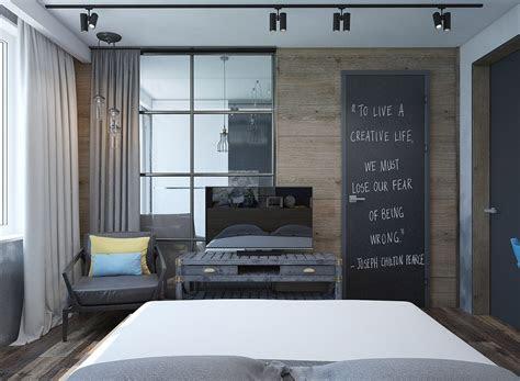 creative bedrooms  artwork  diverse textures
