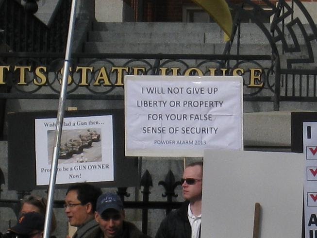 I will not give up liberty or property for your false sense of security.