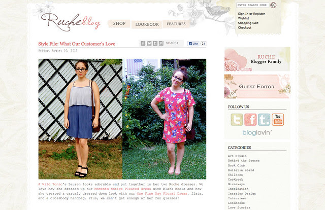 Ruche Blog Feature