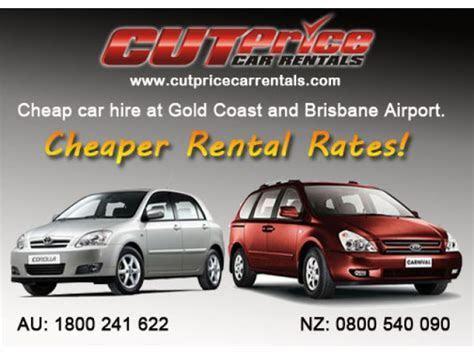 Cut Price Car Rentals   Brisbane Airport Car Hire at