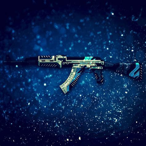 Counter Strike: Global Offensive AK 47 Vulcan theme Chrome