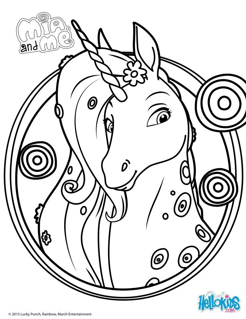 Lyria coloring page