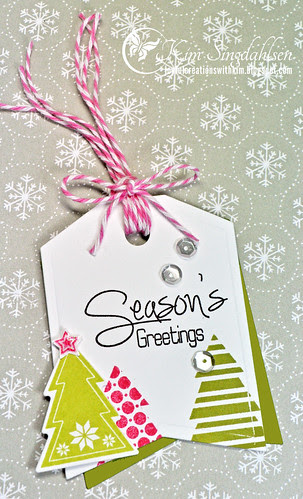 CBS Season's Greetings tag