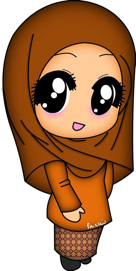 pin oleh intan laila  doodles   islamic cartoon