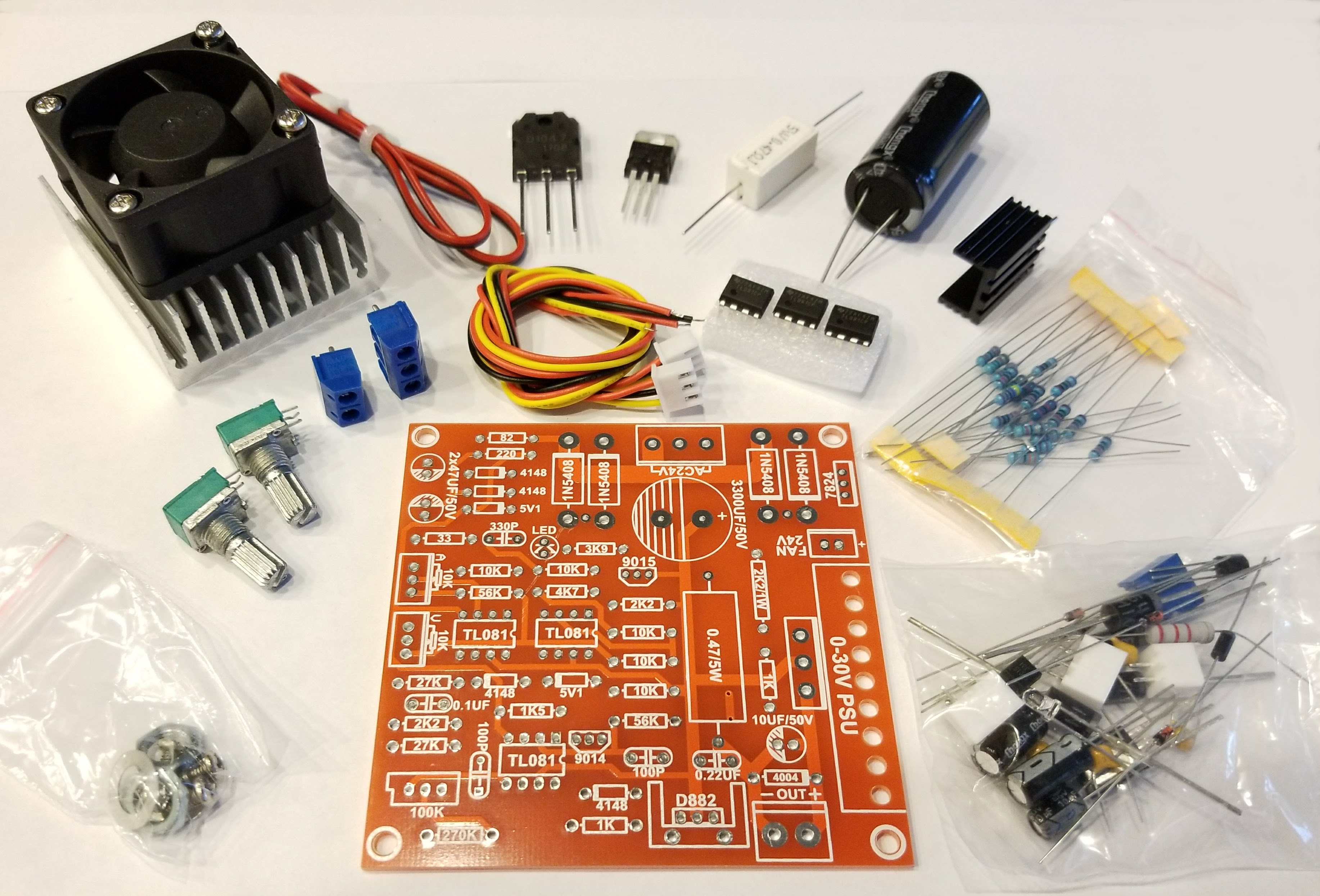 Portable Variable Power Supply Part 1