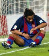 Ronaldinho: Forgot  the bog roll