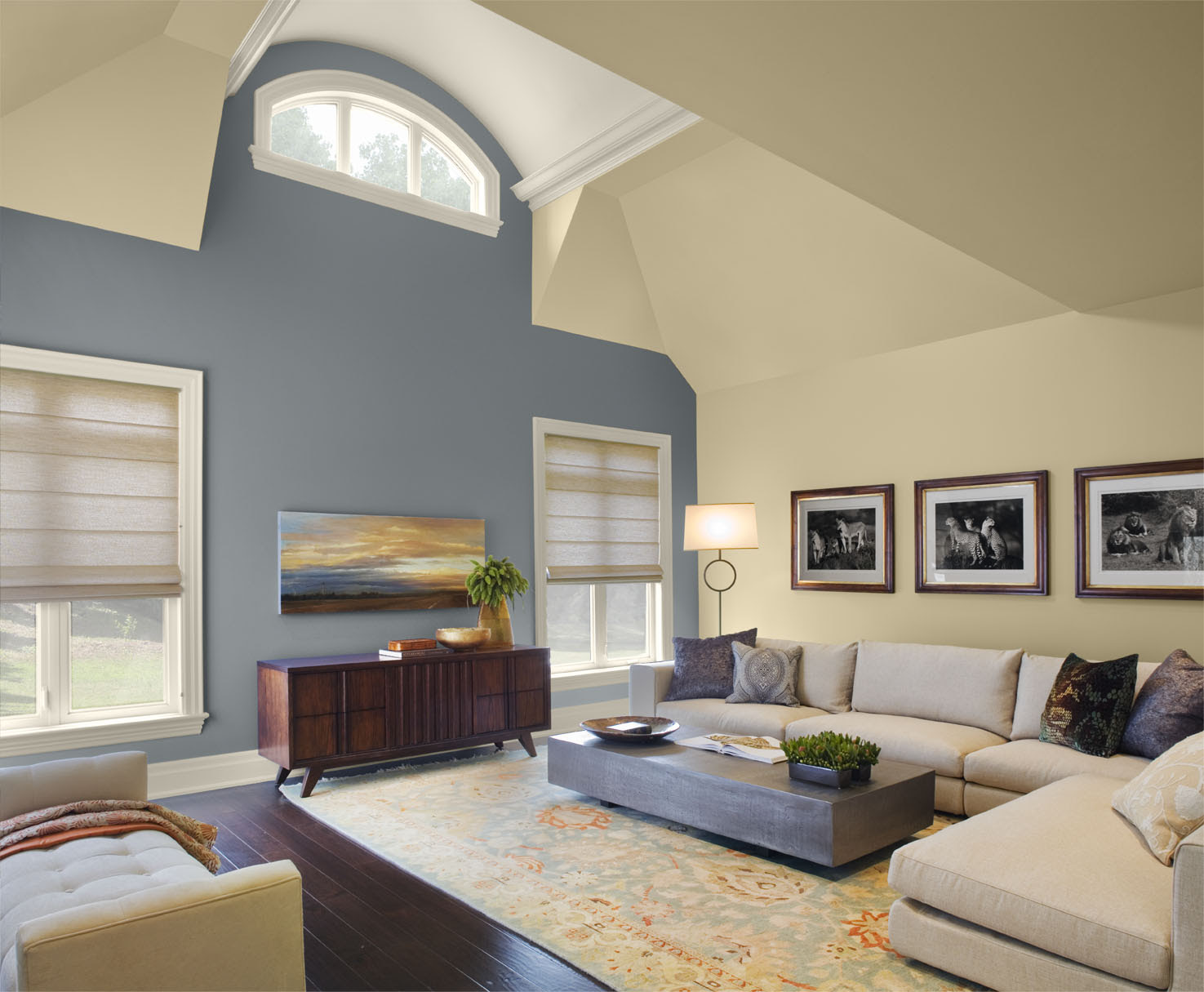 Accent Wall Colors For Living Room