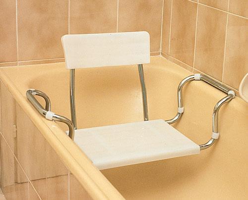 Sedili per vasca in plastica regolabili | Farmacare