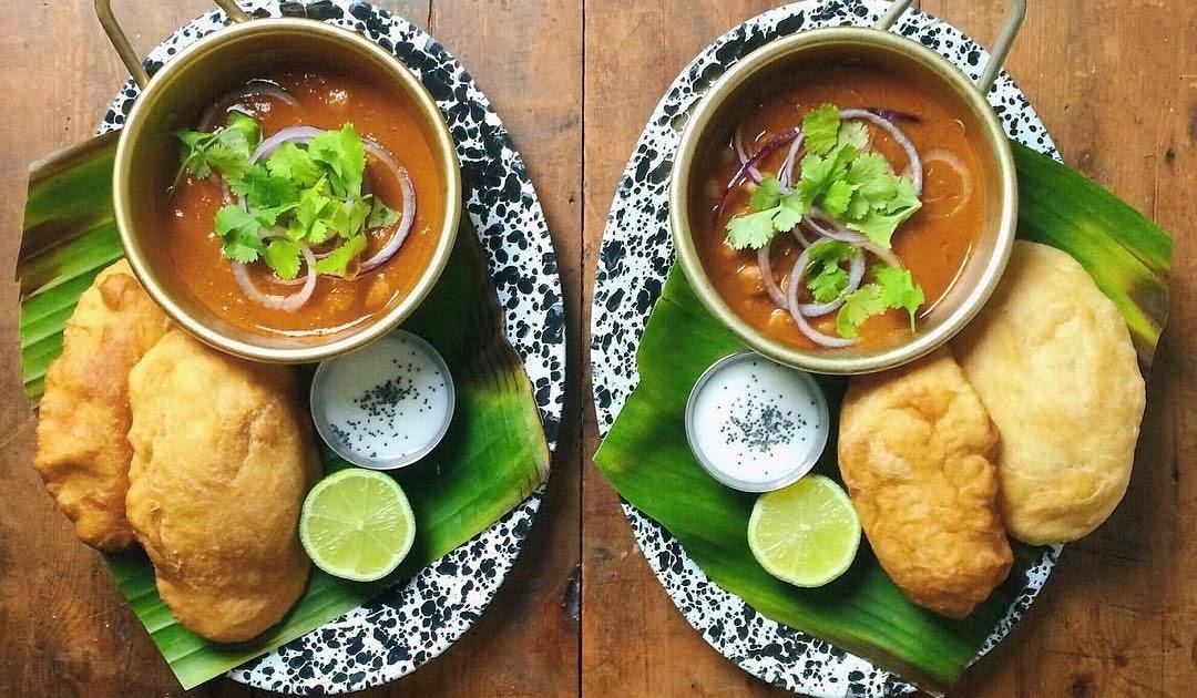 Chole Bhature Home Made Pic / Chole Bhature Recipe Punjabi