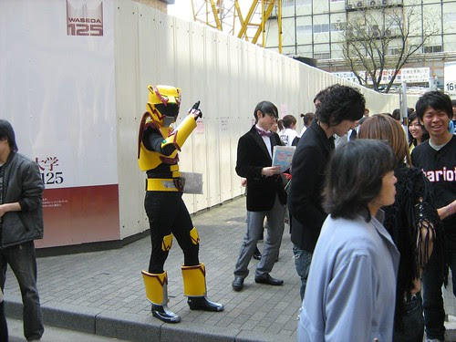 Club Recruitment Day in Waseda University 3