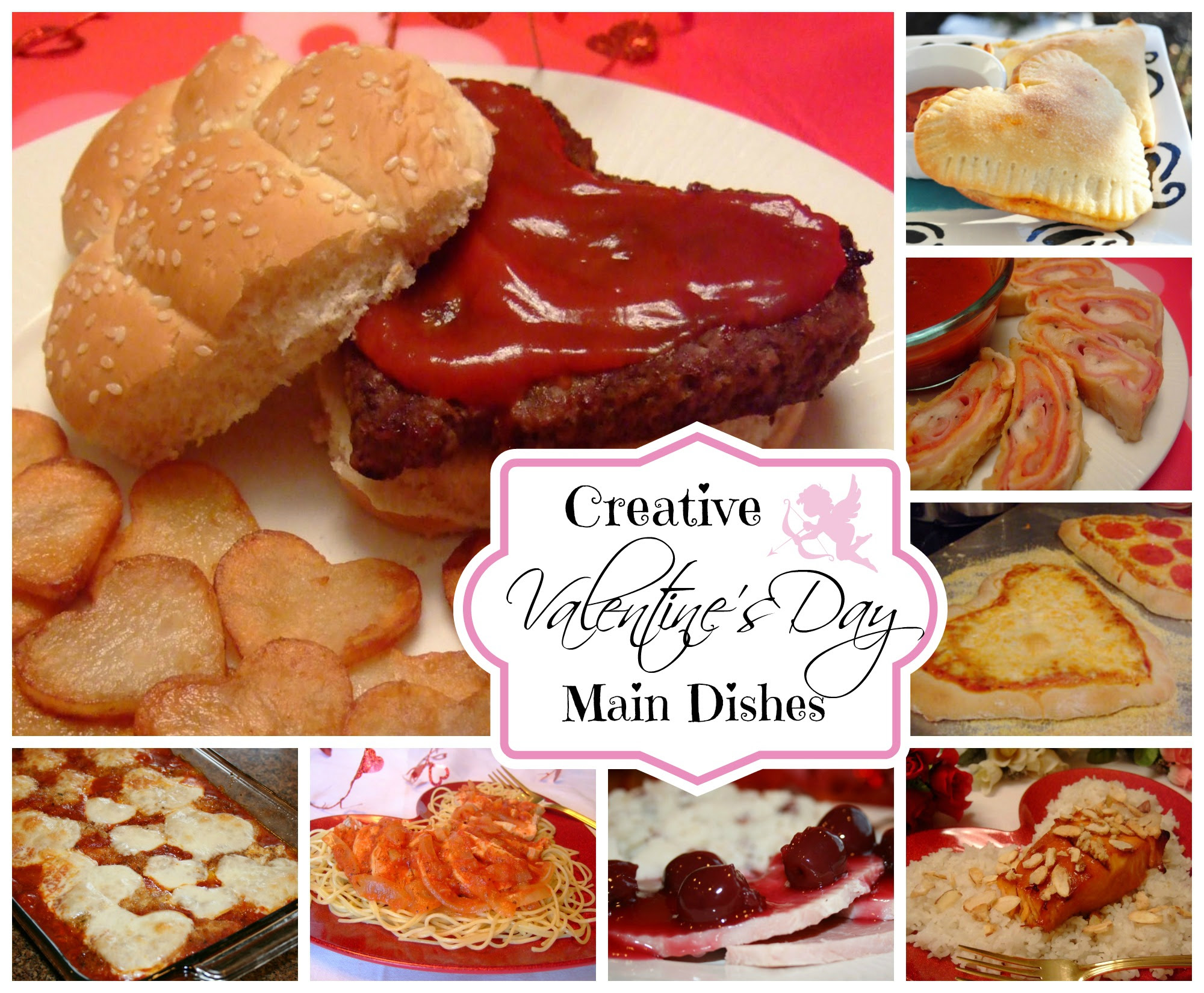 Valentines Day Main Dish And Dinner Ideas And Recipes Celebrating