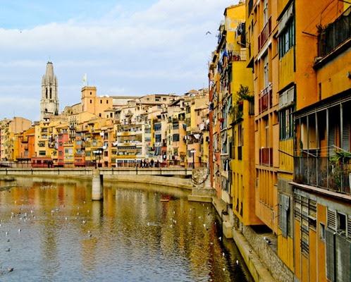 Girona houses