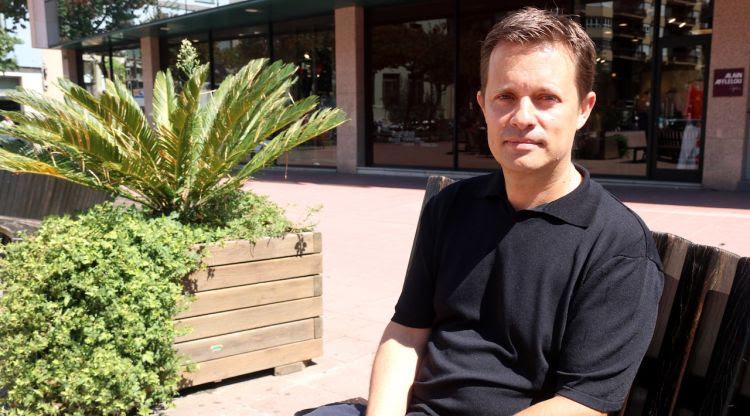 El fins ara director general de la DGAIA i regidor a Girona, Ricard Calvo. ACN