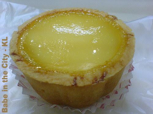 SH - egg tart RM1.00