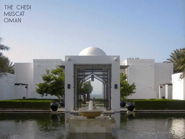 The Chedi Fountain